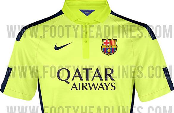 Así será la tercera camiseta del Barcelona para la temporada 2014-2015 -  Archivo Digital de Noticias de fútbol - FutbolRed 339c3cffdc40e