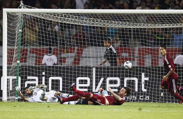 Venezuela también tuvo una jornada inolvidable, venció 1-0 a Argentina -  Archivo Digital de Noticias de fútbol - FutbolRed