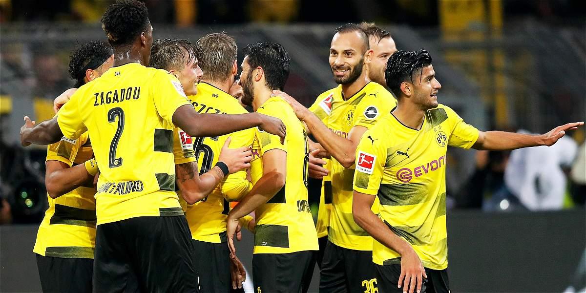 Borussia Dortmund goleó 5-0 al Colonia, en el que estuvo Jhon Córdoba