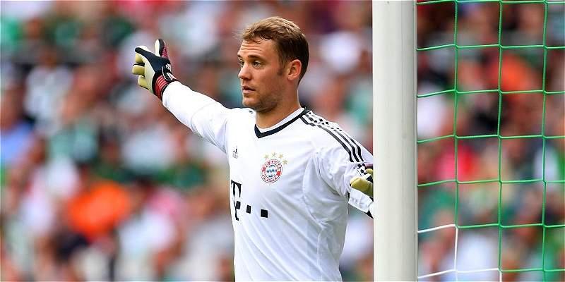 Neuer fue operado en su pie izquierdo y no jugará por el resto del año
