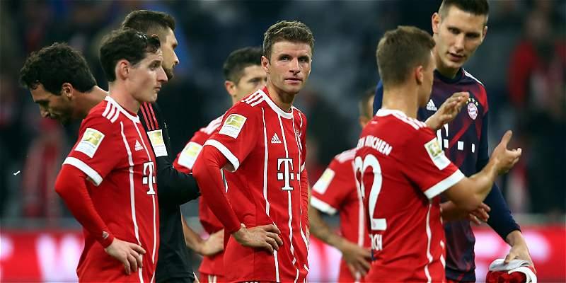 Bayern Múnich no pudo con el Wolfsburgo y acabó empatando 2-2