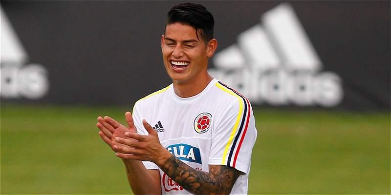 \'Mi sueño más grande es ganar el Mundial\': James Rodríguez