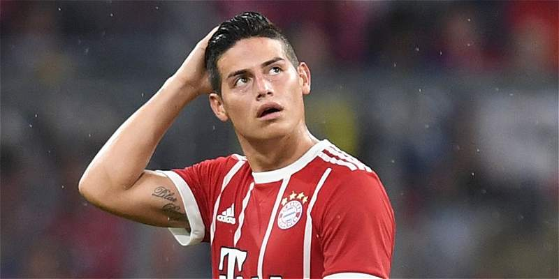 James Rodríguez Jupp Heynckes Bayern Múnich