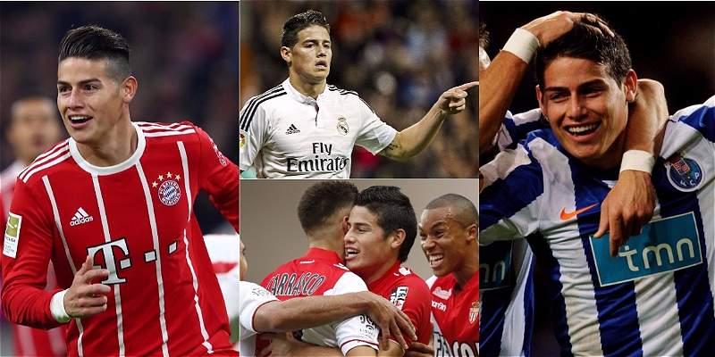James Rodríguez llegó a 80 goles en Europa: vea sus \'goles redondos\'