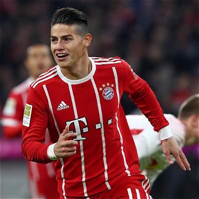'Fue una sensación preciosa marcar mi primer gol en el Allianz': James