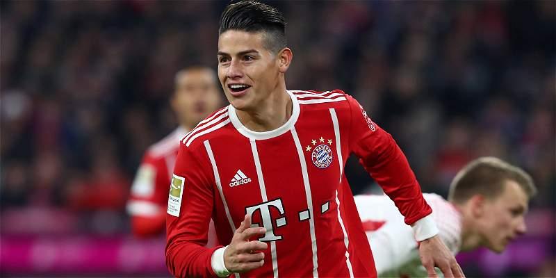 \'Fue una sensación preciosa marcar mi primer gol en el Allianz\': James