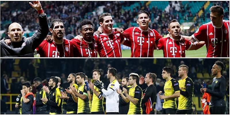 Bayern y Borussia Dortmund