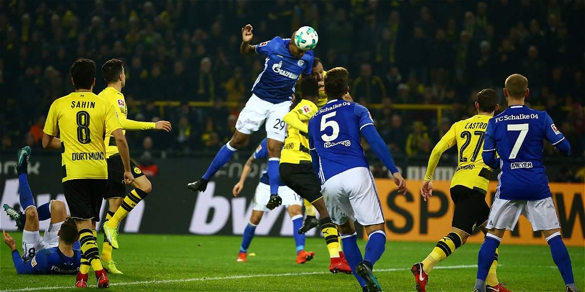 El derbi del Ruhr fue de 'locos': Dortmund y Schalke igualaron 4-4