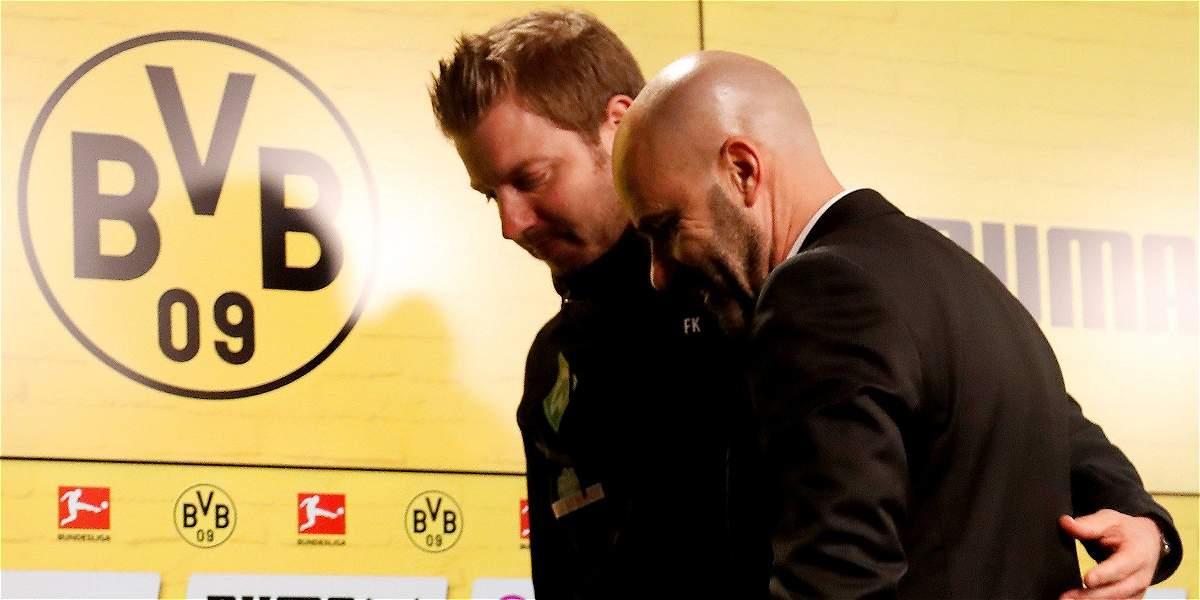 Borussia Dortmund despidió a su DT, Peter Bosz, y anunció su reemplazo