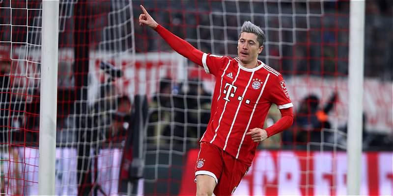 Con James 45 minutos, Bayern sufrió para vencer 1-0 a Colonia