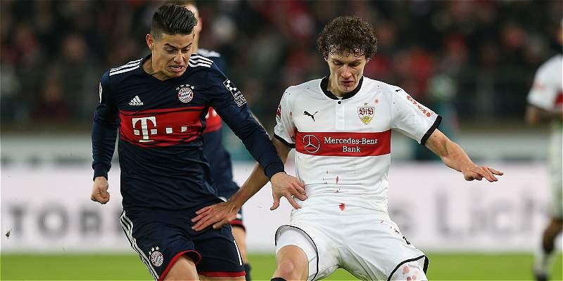 Bayern Múnich y James cierran el año enfrentando a Borussia Dortmund