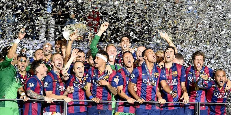 Así quedaron los grupos para la Liga de Campeones 2015-2016
