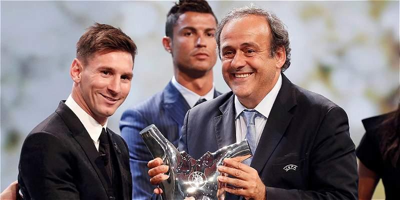 Messi, elegido mejor jugador de la temporada en Europa