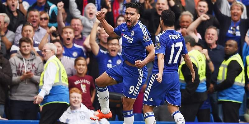 Falcao García, en lista de Chelsea para la Liga de Campeones 2015-2016