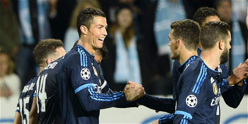 Cristiano Ronaldo Real Madrid Malmo