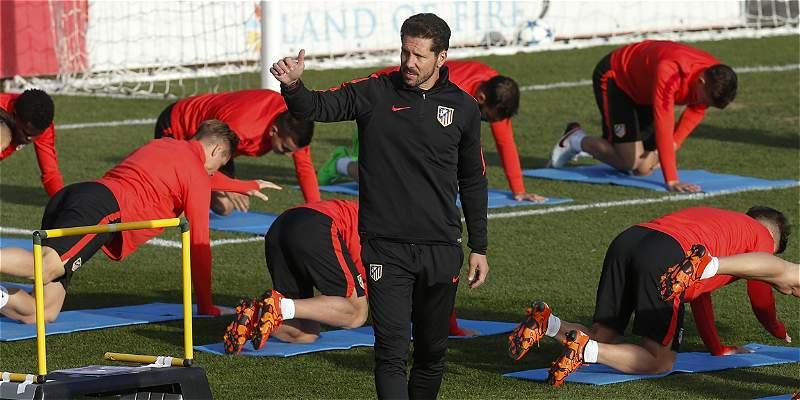Jackson, ausente del plantel de Atlético para enfrentar a Galatasaray