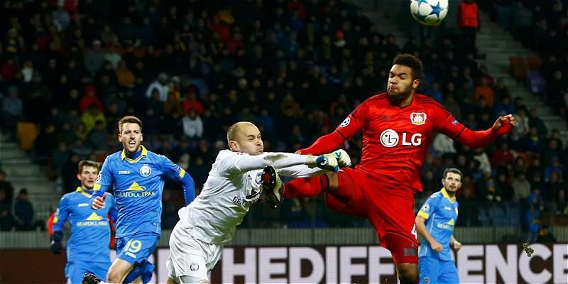 BATE y Leverkusen igualaron 1-1, en el grupo E de la Champions