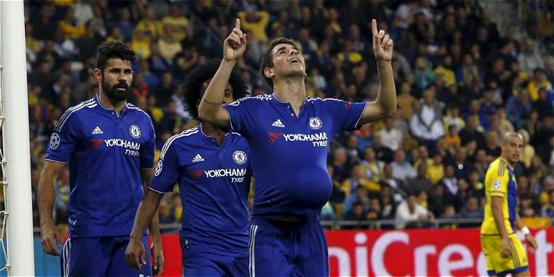Chelsea venció 0-4 a Maccabi y se acerca a los octavos de la Champions