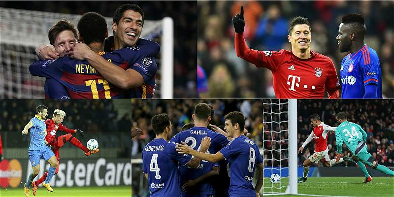 En fotos: el resumen de la quinta fecha de la Champions
