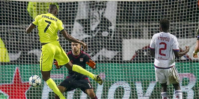 Con un gol al último minuto, Gent derrotó 1-2 a Olympique de Lyon