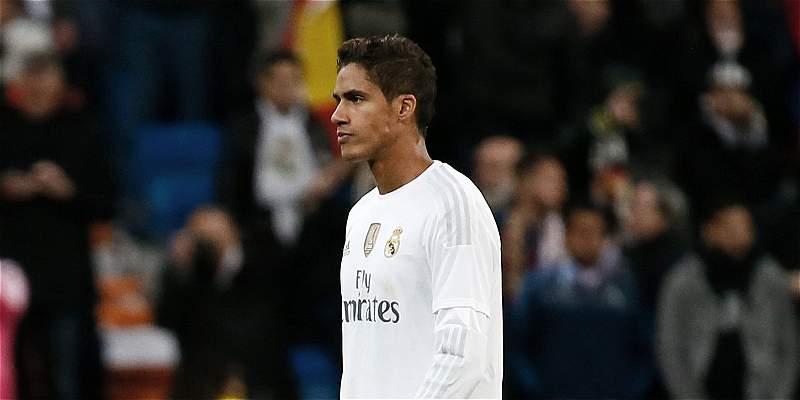 Por lesión, Varane abandonó el partido entre Shakhtar y Real Madrid