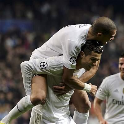 Real Madrid goleó a Malmo