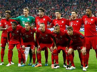 Bayern vs. Atlético/Galería