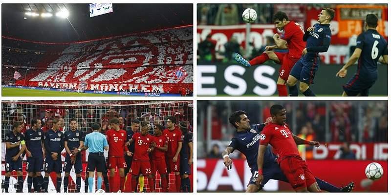 En fotos: el duelo entre Bayern Múnich y Atlético, por la Champions
