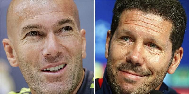 Infografía: Zidane vs. Simeone: los DT\'s de la final de la Champions