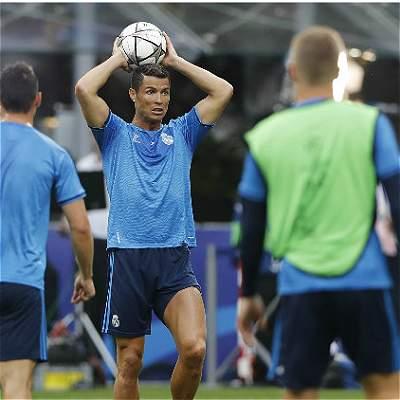 Ronaldo y Griezmann