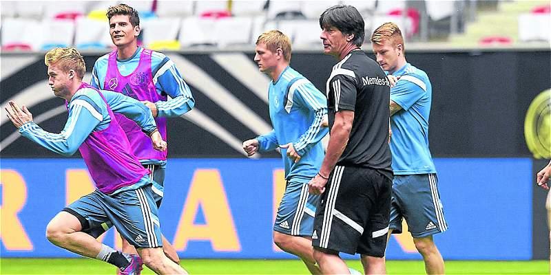 Joachim Löw deseó suerte en la final de la Champions al Real Madrid