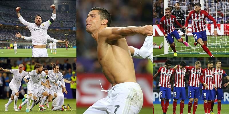 Las mejores fotos de la final de la Champions entre Real y Atlético