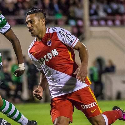 Falcao García Mónaco Champions