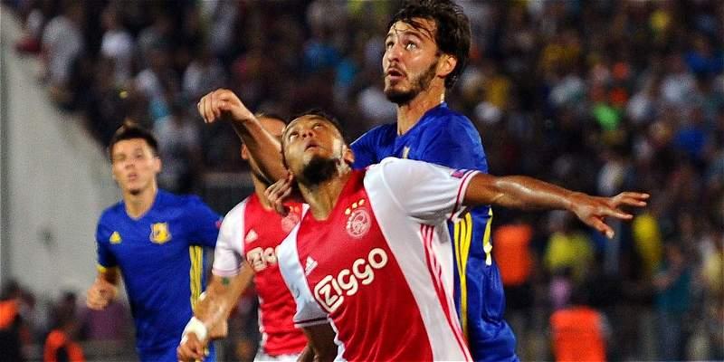 Ajax, de Casierra y Sánchez, salió de Champions: perdió 1-4 con Rostov