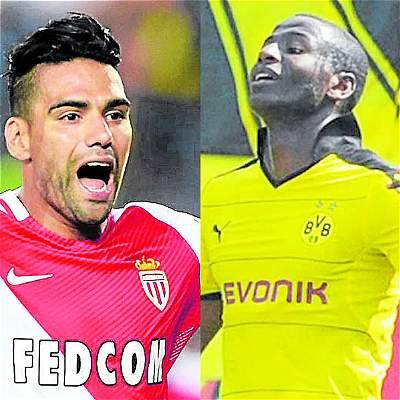 Colombianos en la Champions / Collage