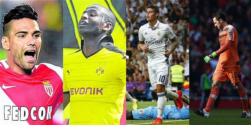Estos son los colombianos que jugarán la Champions League 2016/2017