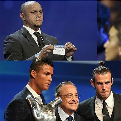 Sorteo de la Champions League / Collage