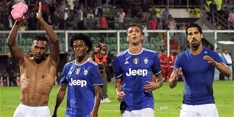 Juan Guillermo Cuadrado, convocado para la visita de Juventus a Dinamo
