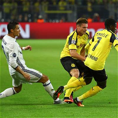 Dortmund vs. Real Madrid minuto a minuto