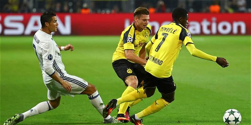 Reviva acá el minuto a minuto del 2-2 entre Dortmund y Real Madrid