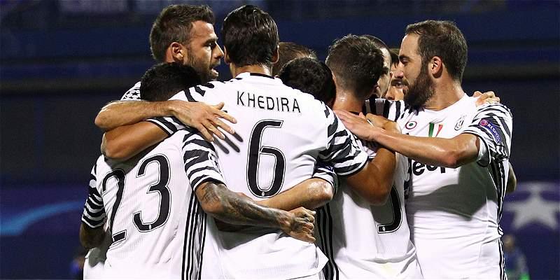 Con Cuadrado en el segundo tiempo, Juventus ganó 0-4 a Dinamo