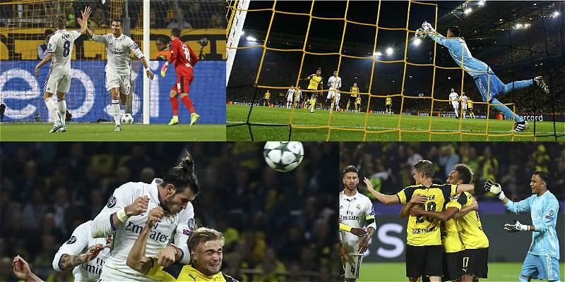 En fotos: Borussia Dortmund empató 2-2 con Real Madrid, en Champions