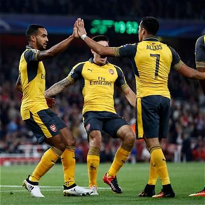 Arsenal vs Basilea minuto a minuto