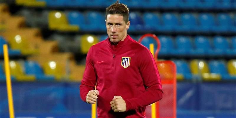 Diego Simeone confirmó titularidad de Fernando Torres frente al Rostov