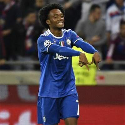 Cuadrado y un golazo que le dio el triunfo a Juventus sobre Lyon: 0-1