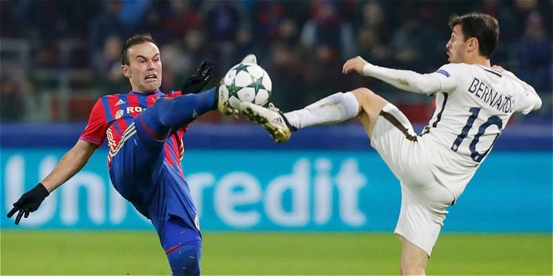Mónaco salvó un empate frente al CSKA Moscú: 1-1, en Champions