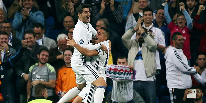 Real Madrid mostró su poder ofensivo y goleó 5-1 al Legia Varsovia