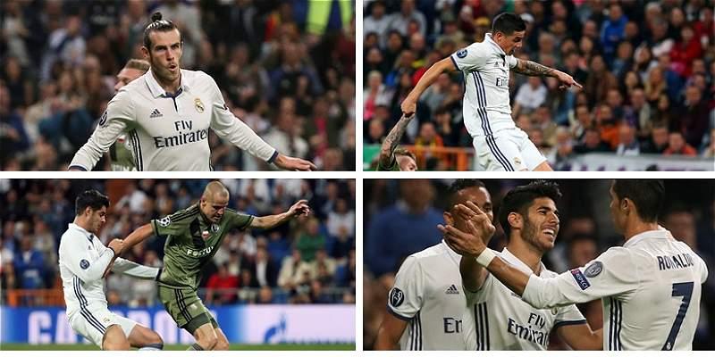 Las mejores fotos de la victoria del Real Madrid sobre Legia Varsovia