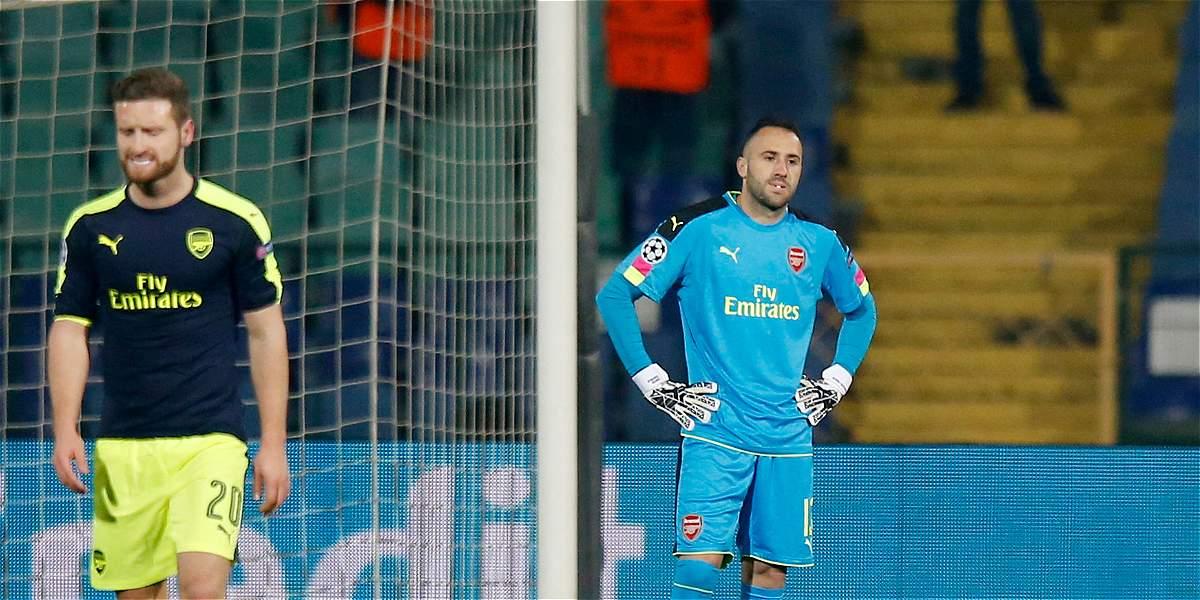Ospina: buenas atajadas, en triunfo 2-3 del Arsenal sobre Ludogorets