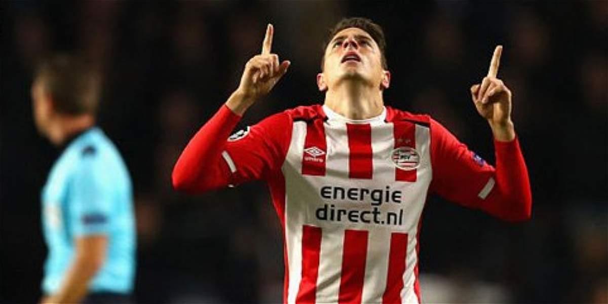Gol de Santiago Arias no evitó la derrota de PSV: 1-2 contra Bayern